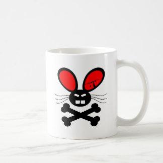 Dibujo animado del conejo del asesino taza clásica