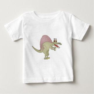Dibujo animado del dinosaurio de Spinosaurus Playera De Bebé