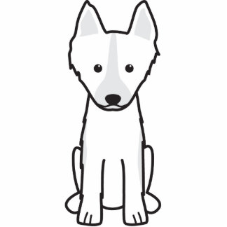 Dibujo animado del este del perro de Laika del sib