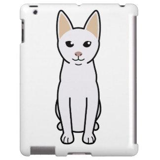 Dibujo animado del gato de Khao Manee