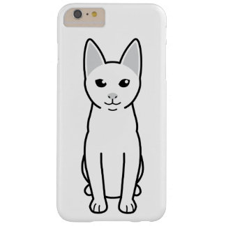 Dibujo animado del gato de Khao Manee Funda De iPhone 6 Plus Barely There
