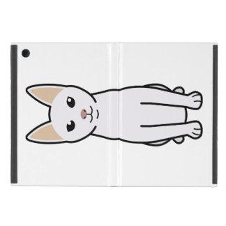 Dibujo animado del gato de Khao Manee iPad Mini Carcasas