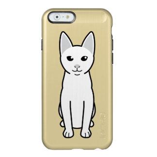 Dibujo animado del gato de Khao Manee Funda Para iPhone 6 Plus Incipio Feather Shine