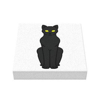 Dibujo animado del gato de Korn Ja Impresion En Lona