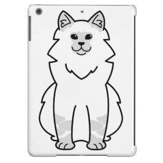 Dibujo animado del gato de la mascarada de Neva Funda Para iPad Air