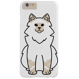 Dibujo animado del gato de la mascarada de Neva Funda Para iPhone 6 Plus Barely There