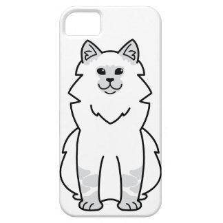 Dibujo animado del gato de la mascarada de Neva iPhone 5 Carcasas