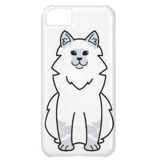 Dibujo animado del gato de la mascarada de Neva Funda Para iPhone 5C