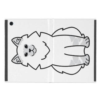 Dibujo animado del gato de la mascarada de Neva iPad Mini Protector