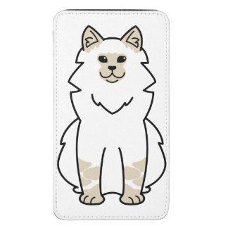 Dibujo animado del gato de la mascarada de Neva Funda Para Galaxy S5