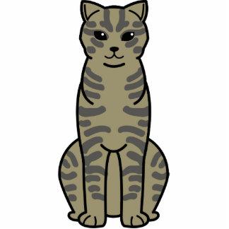 Dibujo animado del gato de Li Hua del chino Escultura Fotografica