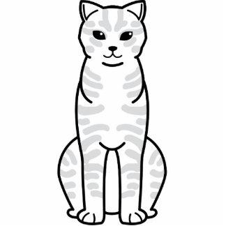 Dibujo animado del gato de Li Hua del chino Esculturas Fotográficas