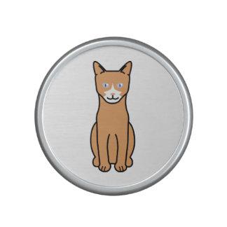 Dibujo animado del gato de Ojos Azules Altavoz Bluetooth