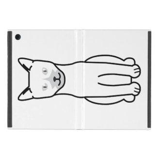 Dibujo animado del gato de Ojos Azules iPad Mini Protector