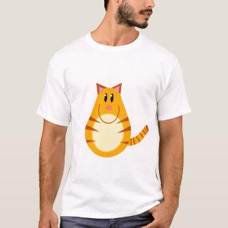 Dibujo animado del gato de Tabby Playera