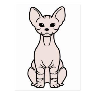 Dibujo animado del gato del Bambino Tarjeta Postal