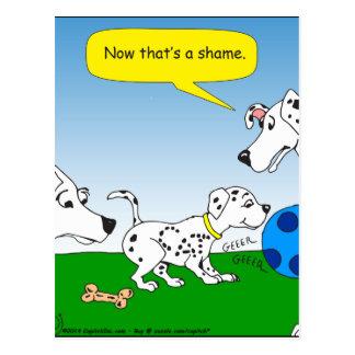 dibujo animado del gato del dalmation 613 postales