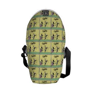 Dibujo animado del golf de la hormiga de la divers bolsas de mensajería