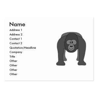 Dibujo animado del gorila