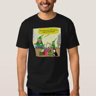 dibujo animado del grado de ingeniería del duende camisas