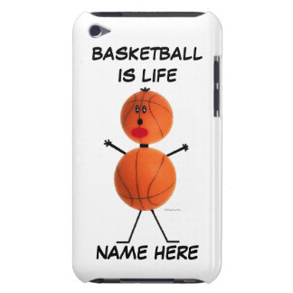 Dibujo animado del jugador de básquet Case-Mate iPod touch carcasa