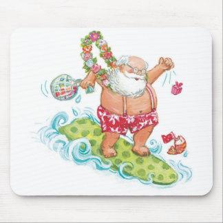 Dibujo animado del navidad del vintage que mousepads