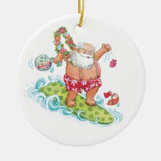 Dibujo animado del navidad del vintage que practic ornamento para arbol de navidad
