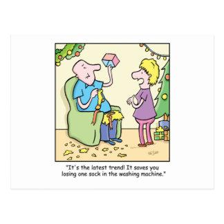 Dibujo animado del navidad tarjetas postales