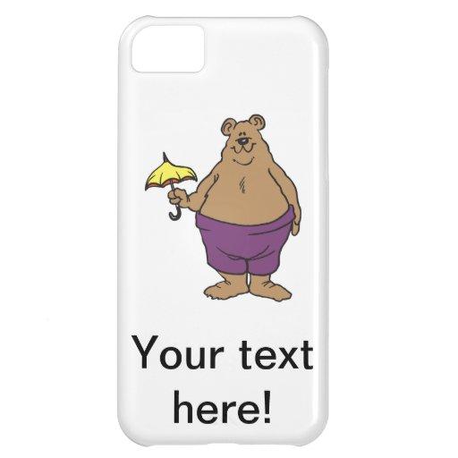 Dibujo animado del oso
