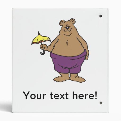 "Dibujo animado del oso carpeta 1"""