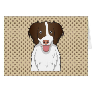Dibujo animado del perro de aguas de saltador ingl tarjeton