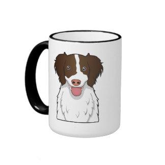 Dibujo animado del perro de aguas de saltador ingl tazas