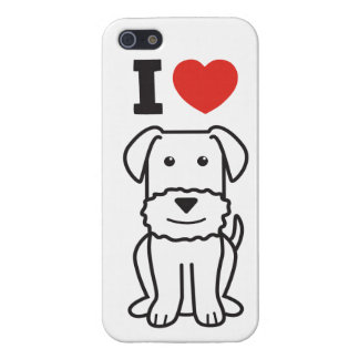 Dibujo animado del perro de Airedale Terrier iPhone 5 Funda