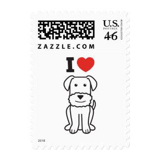 Dibujo animado del perro de Airedale Terrier