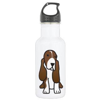 Dibujo animado del perro de Basset Hound
