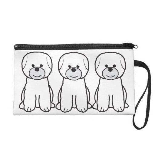Dibujo animado del perro de Bichon Frise