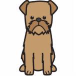 Dibujo animado del perro de Bruselas Griffon Esculturas Fotograficas