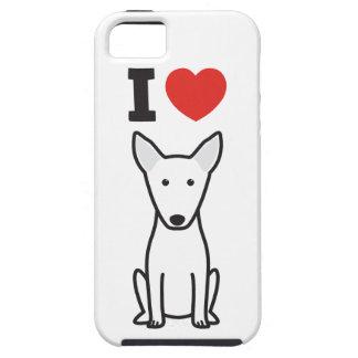 Dibujo animado del perro de bull terrier iPhone 5 Case-Mate cárcasas