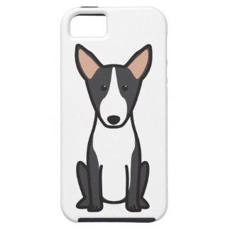 Dibujo animado del perro de bull terrier iPhone 5 protectores