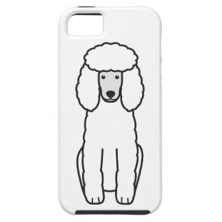 Dibujo animado del perro de caniche iPhone 5 carcasas