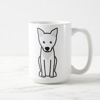 Dibujo animado del perro de Carolina Taza Básica Blanca