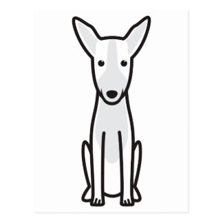 Dibujo animado del perro de caza de Ibizan Tarjetas Postales