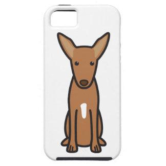Dibujo animado del perro de caza del Pharaoh Funda Para iPhone 5 Tough