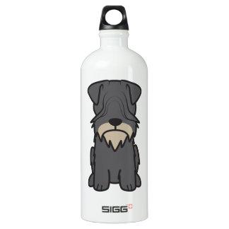 Dibujo animado del perro de Cesky Terrier