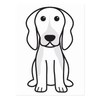 Dibujo animado del perro de Chien Français Postal