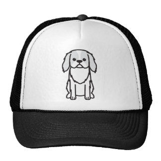 Dibujo animado del perro de Chin del japonés Gorras De Camionero