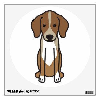 Dibujo animado del perro de Dunker Vinilo Adhesivo