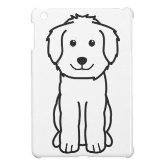 Dibujo animado del perro de Goldendoodle
