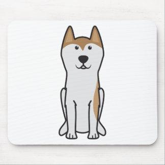 Dibujo animado del perro de Groenlandia Alfombrillas De Ratones