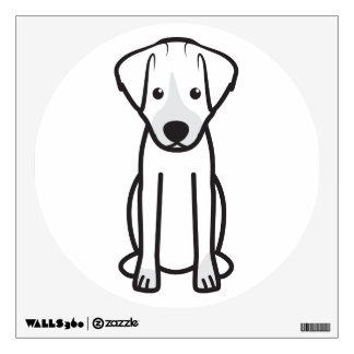 Dibujo animado del perro de Jack Russell Terrier